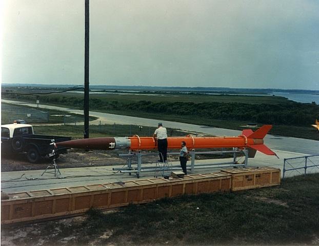 the aerobee 350 rocket