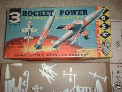 Hawk Lacrosse Missile Model Kit 614